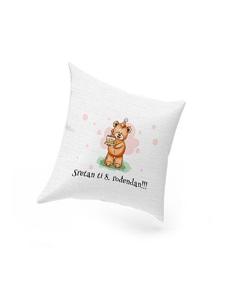 Rođendanski jastuk za klince